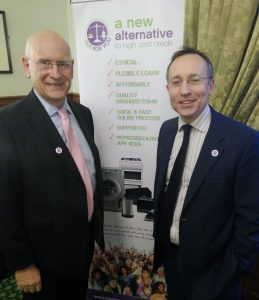 Andy Slaughter MP joins Tom at launch of FFY, House of Commons, February 2016